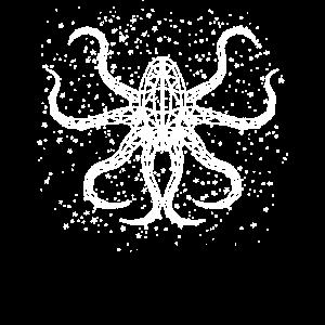Octopus Kraken Tintenfisch Sternzeichen