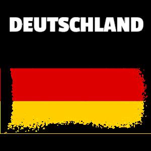 Deutschland Flagge used