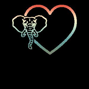 I Love Elephant