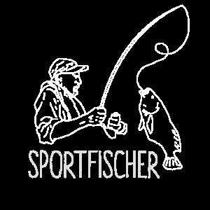 Sportfischer Angler