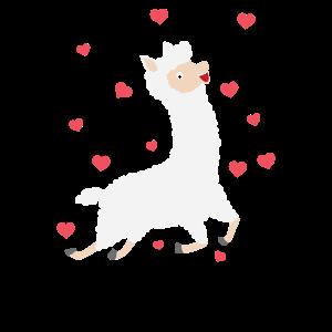 verliebtes Lama