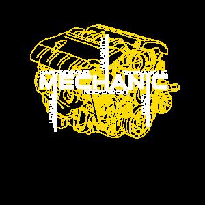 Mechaniker Charakter Shirt