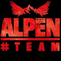 alpen team berg