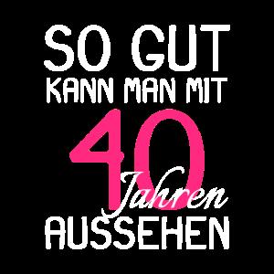 40 Geburtstag Party