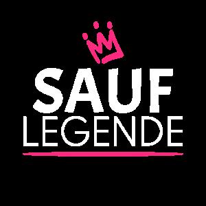 Sauf Legende mit Krone