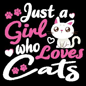 Katze fuer Mädchen