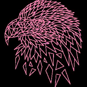 Seeadler Adler Polygone Geometrisch Adlerkopf
