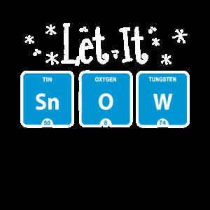 Let It Snow Lustige chemische Elemente