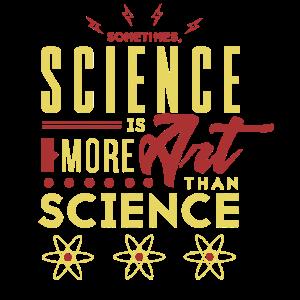 Wissenschaft ist mehr Kunst als wie Wissenschaft
