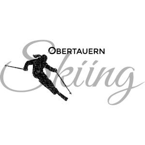 Obertauern Skiing (Grau) Apres-Ski Skifahrerin