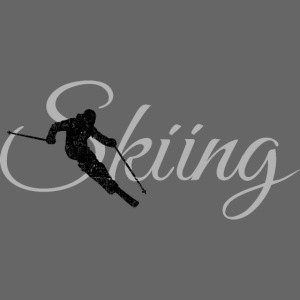 Skiing Skifahrer (Grau) Wintersport Apres-Ski