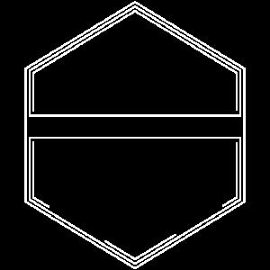 Logo Vorlage 6 Eckig