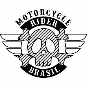 Motorcycle Rider Brasil 'Wing'
