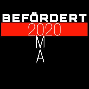 Befördert 2020 OMA Glückwunsch