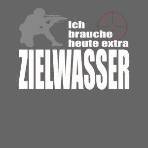 Gamer Zocker Sniper Motiv, Bier Saufen Sprüche