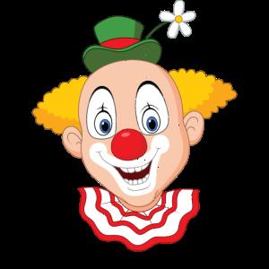 Karneval Clown vintage look