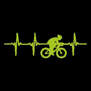 Herzschlag Radfahrer I Heartbeat Bike-Rider