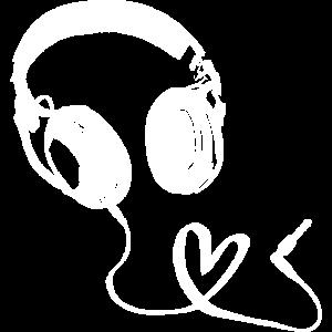Musik Liebe - Kopfhörer