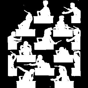 Komponist Gustav Mahler als Orchester Dirigent