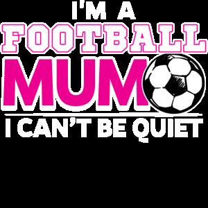 Fussball Mum Mutter Mama Fussballfan Spruch Lustig
