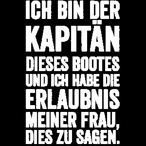 Kapitän Boot Kreuzfahrt Motorboot Yacht