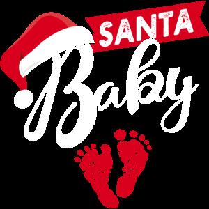 Santa baby Schwangerschaft Weihnachten Schwanger