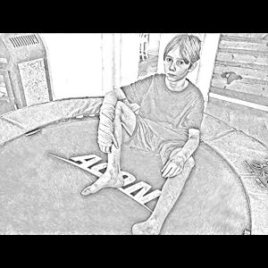 Cartoon-Trampboy
