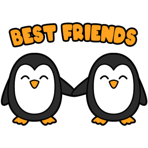 Best Friends Pinguine