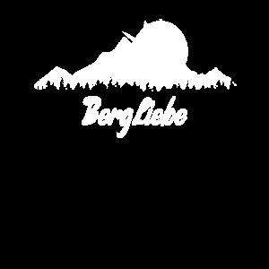 Bergliebe Berge Wandern Bergsteiger Bergwandern