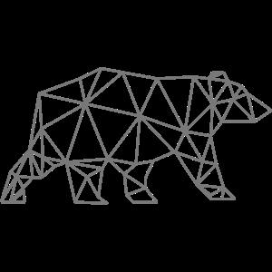 Bär Origami