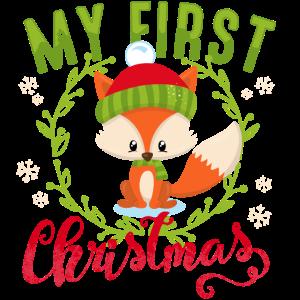 My first Christmas - Mein erstes Weihnachten Süß