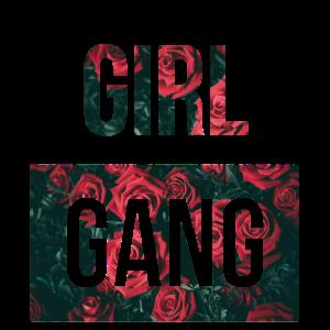 Girl Gang Frauen Junggesellenabschieds Gruppe