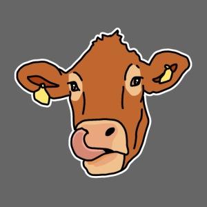 Kuh, Rind, Kopf, Comic, Geschenkidee