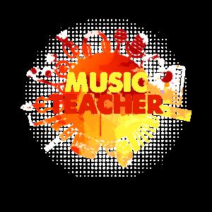 Lustiger Musiklehrer