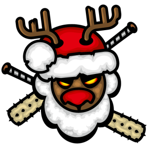 rentier weihnachten humor