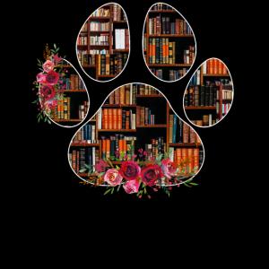 Leicht von Hunden und Büchern abgelenkt