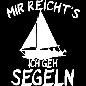 Mir reichts Ich geh segeln