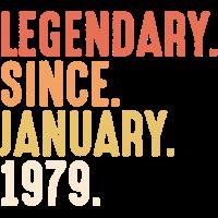 Legendary Since January 1979 - 40. Geburtstag Bday