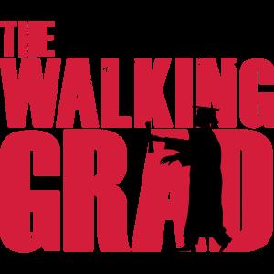 The walking Grad Student Abschluss Schüler Dead