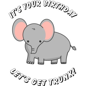 elephant birthday