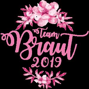 team braut blumen 2019