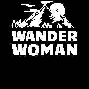 Wander Woman Design zum wandern und bergsteigen