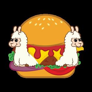 Llama Hamburger