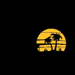 Sommer - Strand Palmen