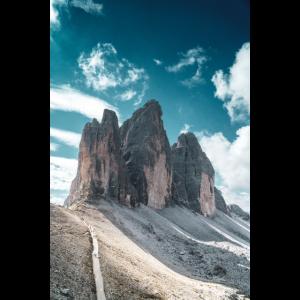 Tre Cime peaks in the Dolomites