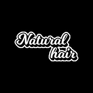 natürliches Haar
