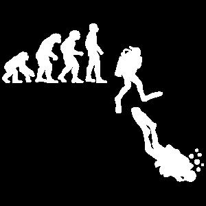 Evolution des Gerätetauchens