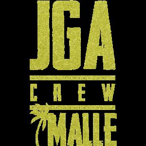 jga crew malle gold