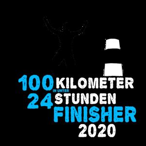 100 Kilometer Marsch Finisher Wandern Gehen