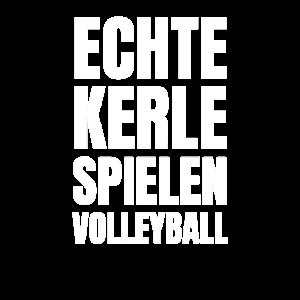 Echte Kerle Spielen Volleyball